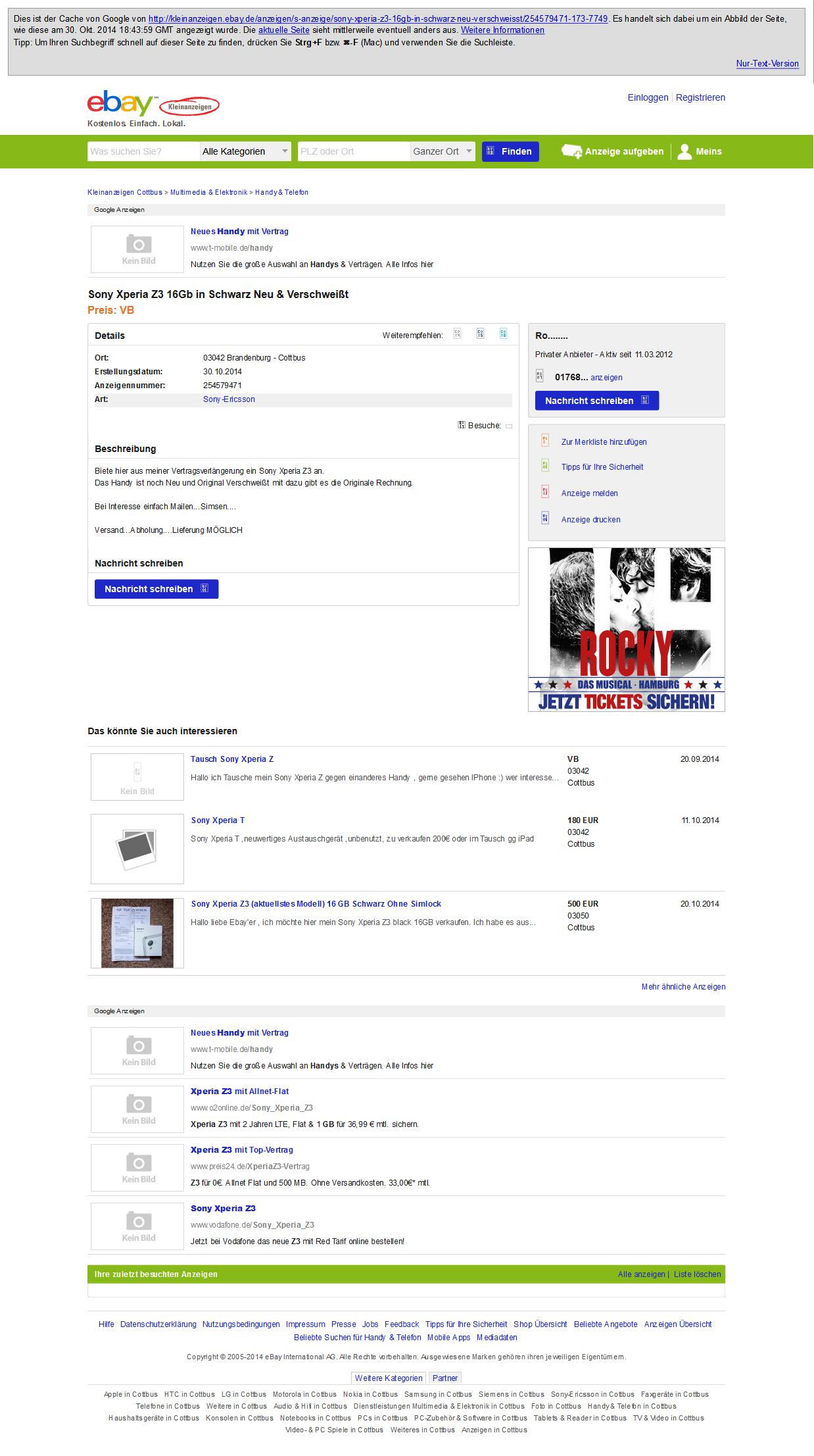 ebay kleinanzeigen kontaktformular