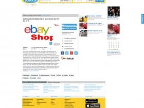 warnung betr gerische stellenanzeigen ebay verkaufsagenten postidentverfahren fidor bank. Black Bedroom Furniture Sets. Home Design Ideas